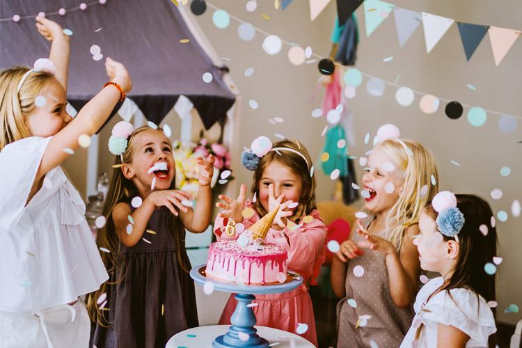 bērnu ballītes svinības